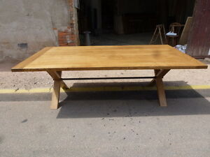 grande table de 250 cm industrielle usine loft atelier magasin salle ...