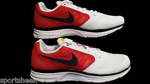 79743553f528 New! Womens NIKE AIR ZOOM VOMERO + 8 LAF LIVESTRONG RED WHITE SZ 7.5 ...