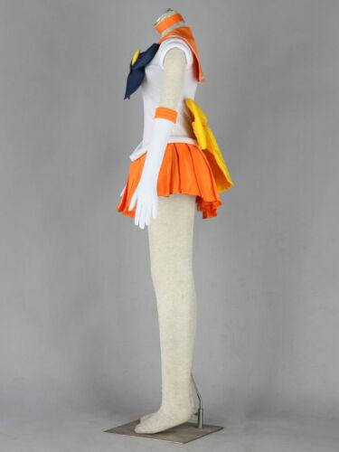 Minako Aino pretty soldier Sailor Moon Cosplay costume Kostüm set cartoon neu
