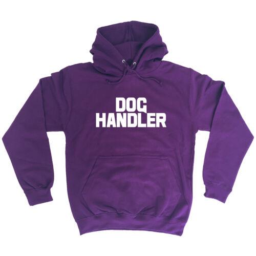 Dog Handler Chest And Back HOODIE hoody trainer uniform workwear walker