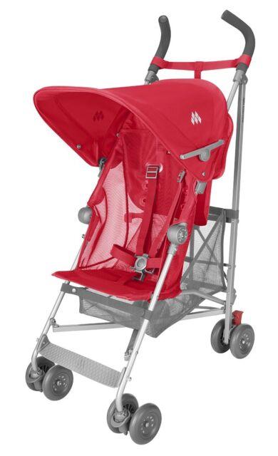 Maclaren Volo Black Umbrella Single Seat Stroller