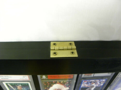 Sport Cards Display Case for 50 Graded Baseball Cards