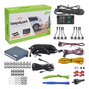 Valeo Einparkhilfe Beep&Park Kit 3 mit 8 Sensoren und LCD Display Rückfahrwarner