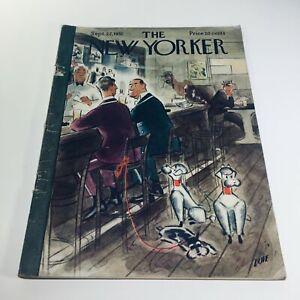 The-New-Yorker-Sept-22-1951-Full-Magazine-Theme-Cover-Leonard-Dove