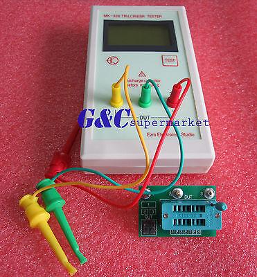 MK-328 TR\LCR\ESR Transistor LCR ESR tester semiconductor device analyzer M100