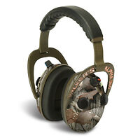 Walkers Alpha Muffs 360 Hunting Shooting 9x Hearing Enhancement Earmuffs, Camo on Sale