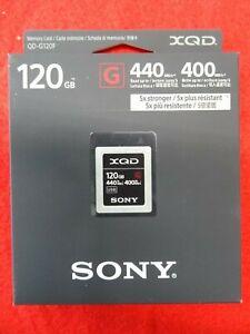 Sony-XQD-120GB-G-Series-Memory-Card-QD-G120F-440MB-s-Read-400-MB-s-Write