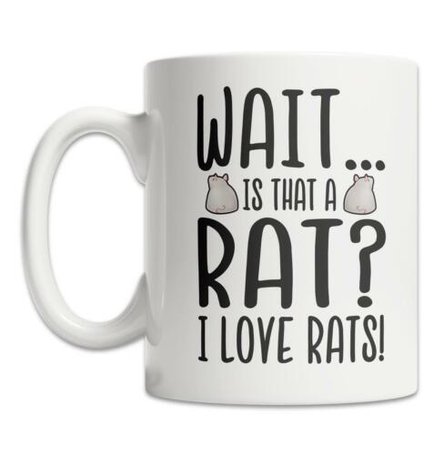 I Love Rats Mug Rat Lover Mug Cute Rat Gift Idea Cute Rat Mug Funny Rat Gift Mug