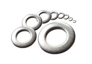 Unterlegscheiben-Beilagscheiben-DIN-125-Edelstahl-A2-A4-Stahl-verzinkt