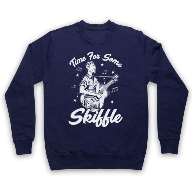 Zeit für einige Skiffle Jazz Folk Music Love Rockabilly Erwachsene Kinder Sweatshirt