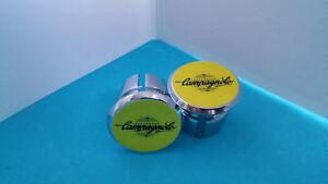 Campagnolo-Globe-Handlebar-End-Plugs-Bar-Caps-buchones-lenkerstopfen-vintage