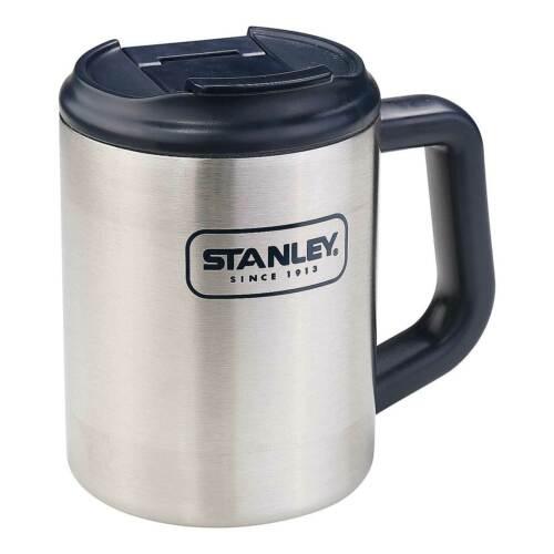 18//8 Inox 0,473 litres Stanley Adventure Camp Mug Double...