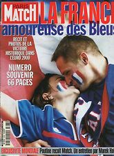 paris match n°2668 / mondiale euro poutine   / 2000