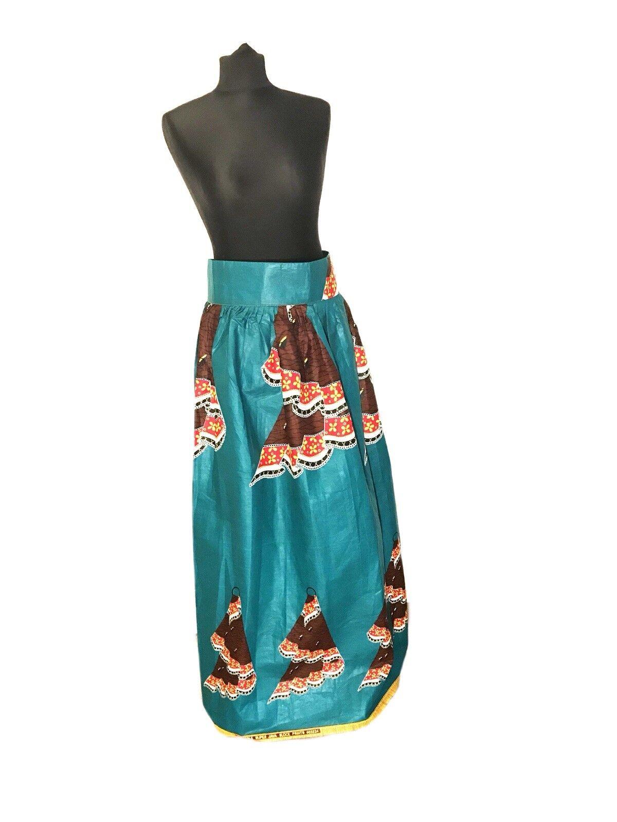 African Print Skirt - Floor Length