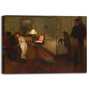 Degas tinozza design quadro stampa tela dipinto telaio arredo casa