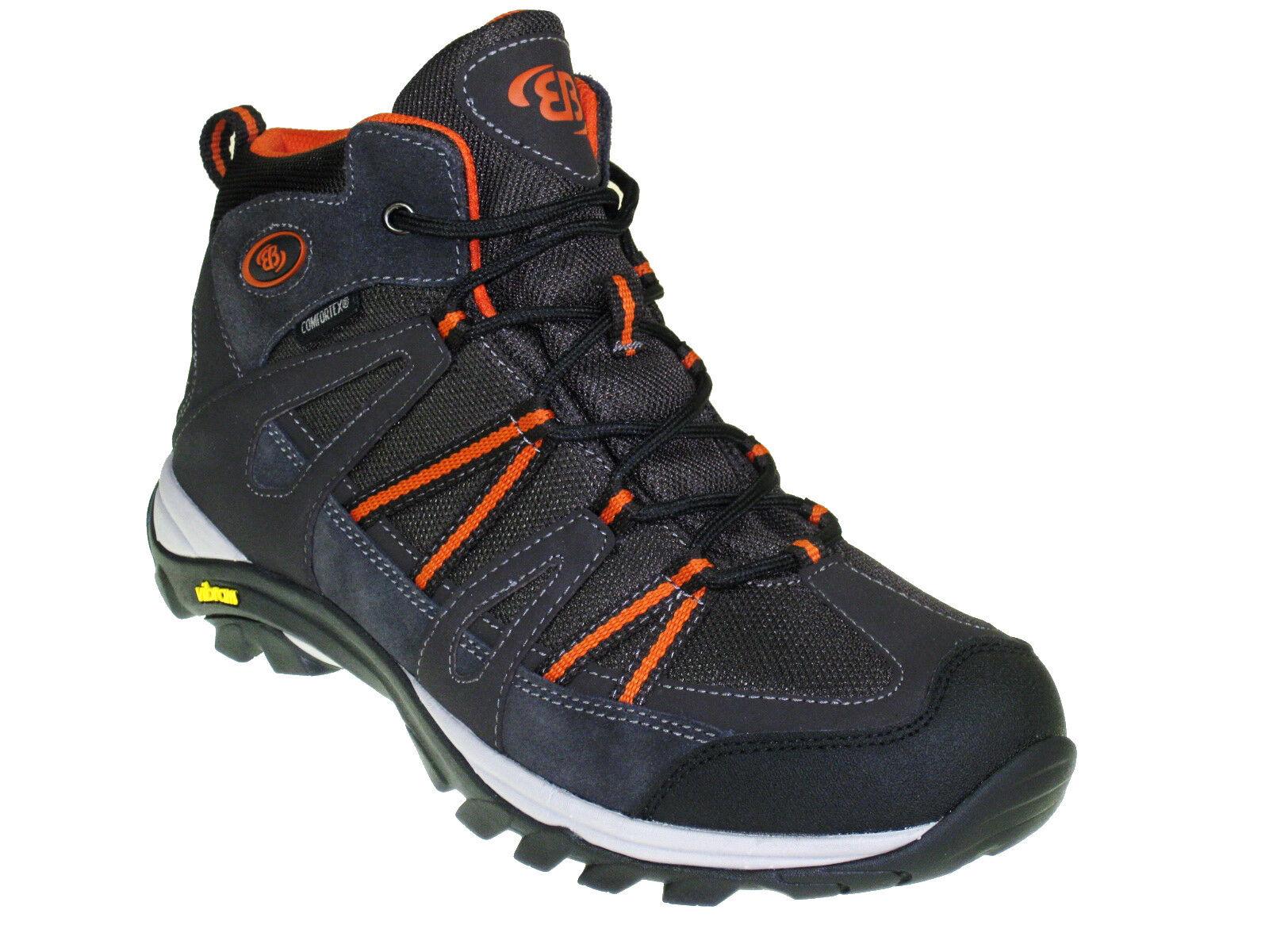 NUOVO Brütting TORNADO HIGH scarpe da uomo in pelle-Trekking-Scarponi eb24