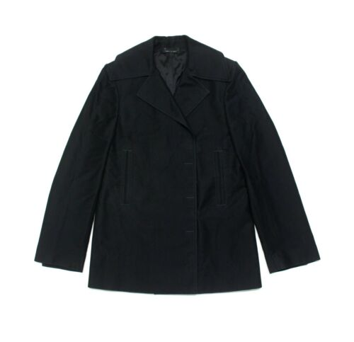 Gucci By Tom Ford Vintage Black Overcoat