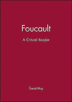 1 of 1 - Foucault: A Critical Reader by Hoy, David