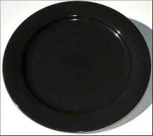 BLACK-BOPLA-Porzellan-27cm-grosser-Essteller-GRANDE-ASSIETTE-large-Plate-LLAN0