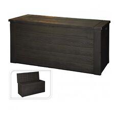 Gartenbox Kissenbox in Holzoptik