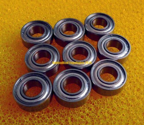 4 PCS 440c Stainless Steel Ball Bearing MR137ZZ 7*13*4 7x13x4mm SMR137ZZ