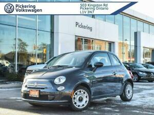 2017 Fiat 500 POP! ONE OWNER!