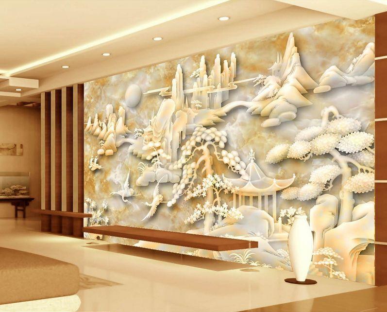 3D Beau Paysage 67 Photo Papier Peint en Autocollant Murale Plafond Chambre Art