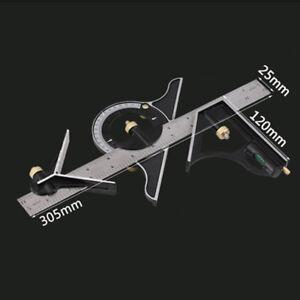 r glable r gle multi equerre combinaison viseur d 39 angle rapporteur ebay. Black Bedroom Furniture Sets. Home Design Ideas