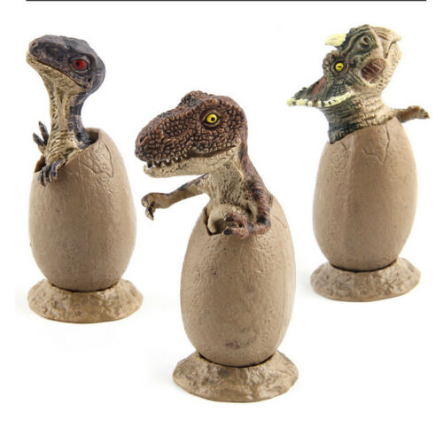 3pcs//set Jurassic World Park Dinosaur Egg Toy Gifts for Children Kids Gifts BJ
