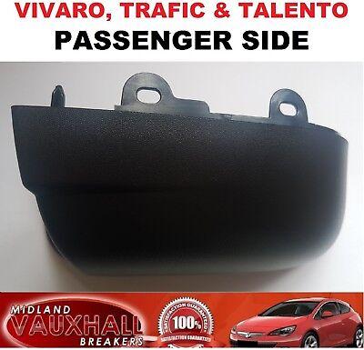 Drivers Side Lower Wing Mirror Cover Casing Bottom for Vivaro Trafic Talento Van