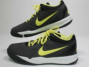 authentic quality no sale tax wholesale dealer Details about New Mens Nike Zoom Attero Basketball Shoes 555072-001 Size 7  Black\Yellow 9A