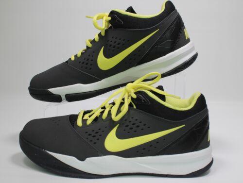 7 New Attero 555072 Maat Mens Nike Blackyellow Zoom 9a Basketbalschoenen 001 FJclK1