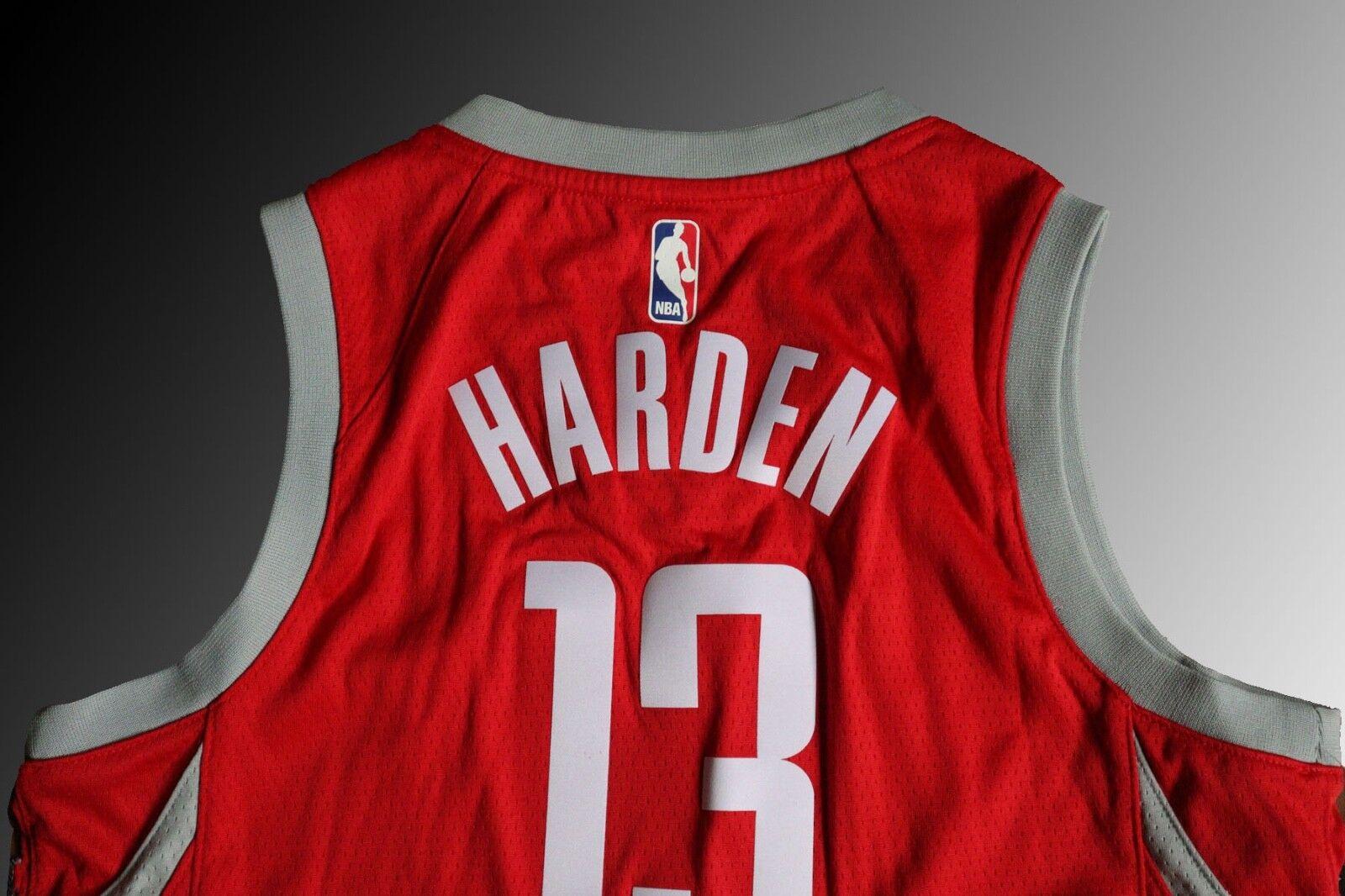 d490a42c0 Nike Youth Houston Rockets James Harden Swingman Jersey NBA City ...