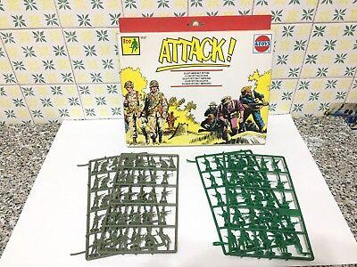 A-toys 1117 Soldati Americani E Vietcong Serie Completa Sprue Scatola Scala H0