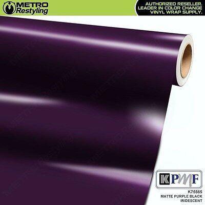 KPMF K75565 IRIDESCENT MATTE PURPLE BLACK Vinyl Car Wrap Film Roll