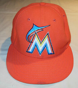 hot sale online 85763 d6f05 ... hat 5c810 373e0  authentic image is loading mlb new era 59 fifty on  field miami 34745 a63ff