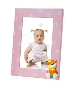 Details Zu Simon Kinder Bilderrahmen In Rosa 10x15 Cm Metall Fotorahmen Portrat Rahmen