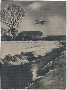 Feindflug-im-Winter-Original-Photo-um-1916