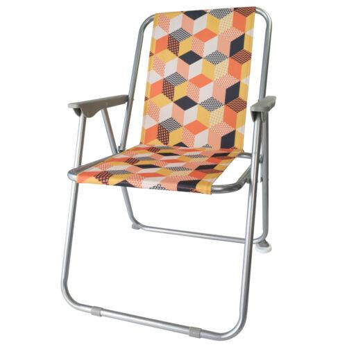 Retro-Design Klappstuhl 8 Farben Campingstuhl Gartenstuhl Angeln Terrasse *NEU*