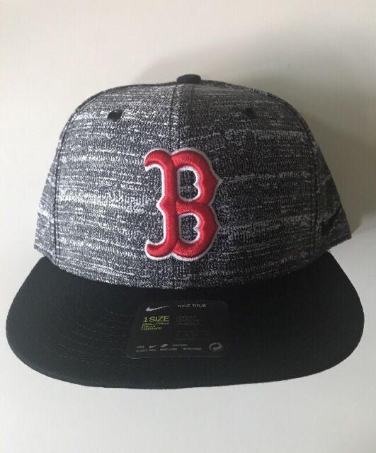 8de0e8eea MLB Boston Red Sox Gray/black Nike Baseball Cap Hat Snapback
