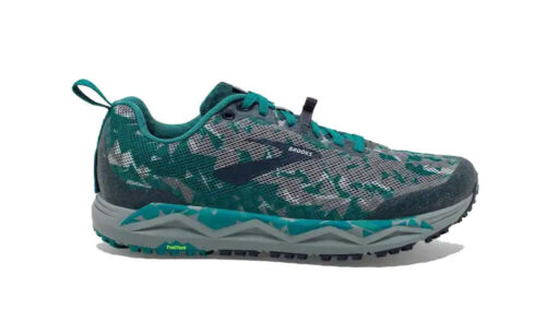Blue//Grey//Navy Brooks Caldera 3 Mens Trail Running Shoes