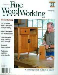 2001 Fine Woodworking Magazine: Storage Cabinet/Router Tune-Up/Surface ...