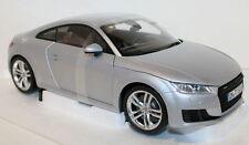 Minichamps 1/18 Scale Audi TT Coupe 3rd Generation Foil Silver diecast model car