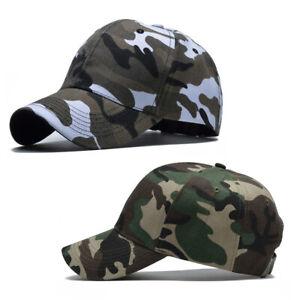 83bd3b05 Men Women Baseball Cap Military Army Camo Hat Trucker Camouflage ...
