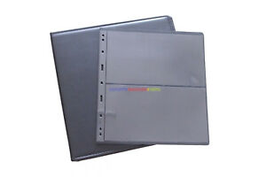 Paper Money Banknotes Album Binder + 10 Sheets Storage Page For Graded PMG Notes