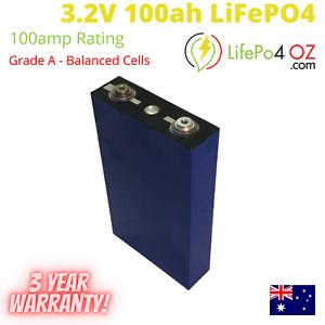 LiFePo4 Lithium 3.2V 100Ah Cell Li-ion Phosphate Grade A New UBetter Battery
