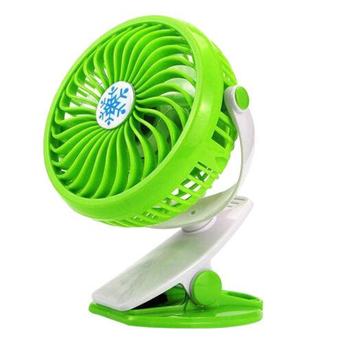 Mini Portable USB Battery Powered Fan Blade Desktop Cooling Fan for Stroller