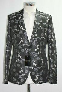 Boohoo Premium Skinny Fit Oriental Floral Blazer Sample 3926 ZuverläSsige Leistung 36