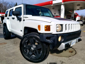 Beautiful CERTIFIED Hummer H3 with 20 inch rims