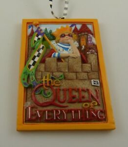 Mary-Engelbrite-ME-Queen-of-everything-Christmas-ornament-xmas-Resin